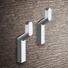 Shop for Nameeks 3527 Gedy Karma Double Wall Mounted Robe Hook - Polished Chrome. Get free delivery On EVERYTHING* Overstock - Your Online Home Improvement Outlet Store! Karma, Hang Towels In Bathroom, Towel Rings, Towel Hooks, Stores, Wall Hooks, Modern Bathroom, Master Bathroom, Decoration