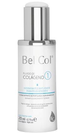 Hidratante Anti Idade Bel Col Fluido de Colágeno 1 Peles Sensíveis