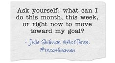 "Learn how to ""small step"" your way to success! Listen to the Texas Conference for Women's free 30-minute teleclass ""Your Next Career—Now"" with Julie Shifman"