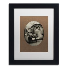 Mice Series #3 by J Hovenstine Studios Framed Graphic Art