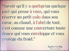 Agnès Ledig - 2 Citations Some Quotes, Words Quotes, Best Quotes, Sayings, Forced Love, Book Works, Quote Citation, French Quotes, My Mood