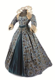 Worth fancy dress ca. 1880 Auctioned at Christie's, via... - Fripperies and Fobs