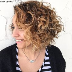 Curly Bob Hairstyles Cool Image Result For Curly Bobs For Fat Faces Haircuts  Pinterest