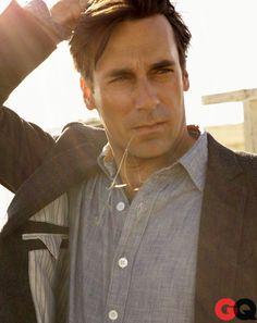 Mad Men in GQ: January Jones, Jon Hamm, John Slattery, and Jessica Pare: Movies + TV: GQ