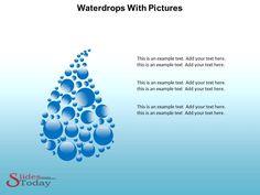 Waterdrops PowerPoint Theme