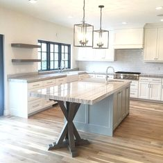 Tantalizing Kitchen design layout for restaurant,Kitchen remodel quad cities and Small kitchen makeover cost. Kitchen Redo, New Kitchen, Kitchen Cabinets, Island Kitchen, Kitchen Ideas, Kitchen Unit, White Cabinets, Rustic Kitchen, Country Kitchen
