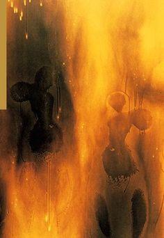 Yves Klein, Fire  Art Experience NYC  www.artexperiencenyc.com