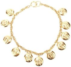 Chanel medallion charm bracelet on shopstyle.com