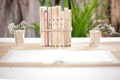 Boeken bij het gastenboek