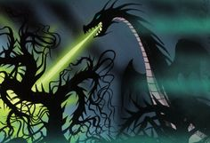 Eyvind Earle's Close Up - Sleeping Beauty Concept Art Like You've Never Seen It Before! It's All About The Details.