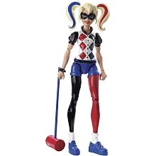 DC Super Hero Girls - Harley Quinn - Figura de Acción