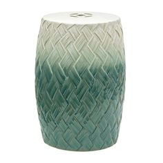 Shop Oriental Furniture  BW-GARDEN17 18-in Carved Woven Design Porcelain Garden Stool at The Mine. Browse our garden stools, all with free shipping and best price guaranteed.