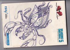 Uno de los tantos bocetos sobre mi cuadernillo del branding emociaonal 5 :)