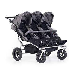 TFK Trio Twist, 1 299,95 €. TFK Trio Twistin kyytiin mahtuu kolmoset tai muuten vain kolme lasta! Lastenratassarjaan on saatavilla erikseen myös makuukehtoja, jolloin myös vauvat pääsevät matkustamaan isompien lasten kanssa. Makuukehtoja ja ratasistuimia pystyy käyttämään samaan aikaan. Ilmainen kotiinkuljetus! #lastenvaunu #lastenvaunut