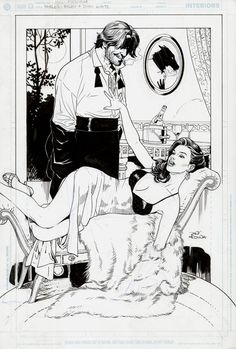 Bigby and Snow of Fables by Lan Medina.