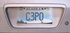 10 Creative License Plates based on Star Wars Characters - Uphaa.com