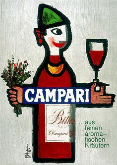 Vintage Campari Posters Prints