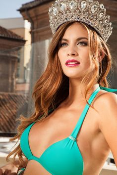 Desiré Cordero, representante española en Miss Universo 2014, quiere ser la segunda en llevarse el título a Andalucía