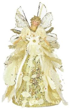 "12"" Angel Cabbage Ivory Tree Topper by American Silkflower, http://www.amazon.com/dp/B006C49P72/ref=cm_sw_r_pi_dp_q9K1rb1GN5PJ3"