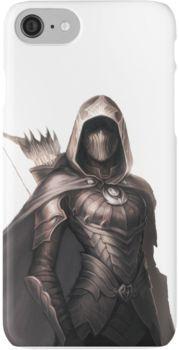 Nightingale armor from TES V: Skyrim Fantasy Inspiration, Character Inspiration, Character Art, Character Portraits, Female Character Concept, Female Assassin, Skyrim Armor Female, Rogue Assassin, Fantasy Kunst