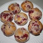 Raspberry Lemon Muffins Recipe  I substituted applesauce for the oil and used fresh raspberries from my backyard and whole wheat flour to make these extra nutritious and they were delicious!  A definite Must-try during raspberry season.