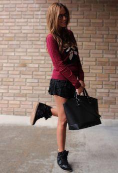 Sneakers  , Pull   & Bear en Jerseys, Pull   & Bear en Faldas, Fashion Pills en Deportivas, Zara en Bolsos