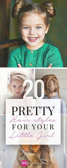 20 Pretty Hairstyles for your Little Girl Turn your little lady into a princess using one of these 20 pretty hairstyles made for little girls. Pick a favorite and try it today!
