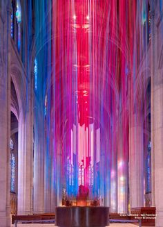 Anne Patterson, Graced By Light, Grace Cathedral, San Francisco, USA, 2014