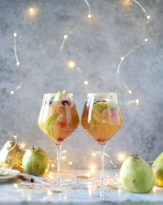 [this post is in partnership with Harry and David. I'm creating some wonderful recipes with their royal rivierapears this season. xoxo] If this doesn't convince you that it's the best time of year… I have no idea what will. We have here what might be my most favorite sangria to date – and it looks …
