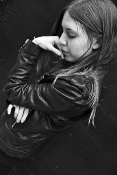 LYKKE LI AT 237 LAFAYETTE - WEARING LEATHER JACKET 5.