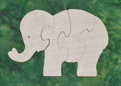 """Puzzles help to develop small motor skills, hand-eye coordination and visualization skills that help with reading development. She is made from toy grade 1/2"""" Baltic birch plywood and and is rubbed with AMF Naturals, an oil wax finish that is completely safe. Dimensions 6"""" high and 8.5"""" wide"""