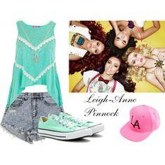 Leigh-Anne Converse Chuck Taylor High, Converse High, High Top Sneakers, Little Mix Outfits, Chuck Taylors High Top, High Tops, Fashion, Moda, Fashion Styles