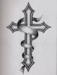 Images For > Catholic Cross Tattoo Designs For Men in catholic cross drawing collection - ClipartXtras Tribal Cross Tattoos, Celtic Cross Tattoos, Cross Tattoos For Women, Cross Tattoo Designs, Cross Designs, Tattoo Designs Men, Cross Tattoo Men, Back Cross Tattoos, Religious Tattoos For Men
