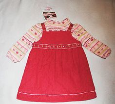 #Shopping Starting Bid $12.99 Girl's Gymboree Outfit Gingerbread Size 12-18 Months New w tags Free Shipping