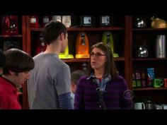 Sheldon meets Amy - Good God what have we done! LOL
