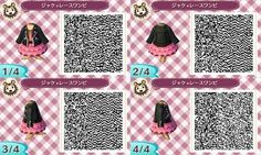 Kleider QR Codes - Animal Crossing: New Leaf