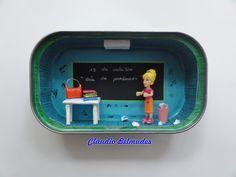 """""""Dia do professor"""" - latinha de sardinha"""