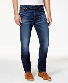 True Religion Men's Blue Cascade Jeans - Blue 28