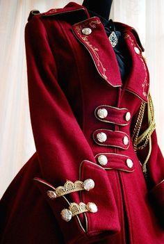 The Queen's Regiment Coat