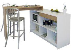 multifunktionsm bel mit stauraum b ro essplatz schrank smallflat m bel f r kleine r ume. Black Bedroom Furniture Sets. Home Design Ideas