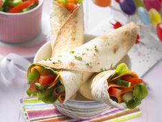 Gemüse-Wraps ist ein Rezept mit frischen Zutaten aus der Kategorie Gemüse. Probieren Sie dieses und weitere Rezepte von EAT SMARTER!