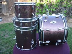 Gretsch 'PROGRESSIVE JAZZ' Drum Outfit - Vintage Round Badge - 1 Owner !!