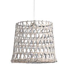 Hanglamp drum Bamboo XL. Deze prachtige  is gemaakt van het meest milieuvriendelijke houtsoort bamboe. De lamp heeft door de gewoven bamboe een warme en natuurlijke uitstraling. Hanglamp Bamboo Drum in de kleur wit is afkomstig van het merk Light & Living. De doorsnede van de kap is 48 cm en heeft een hoogte van 40 cm. Hanglamp  De lamp is helemaal van nu, met een unieke twist!