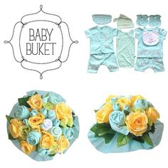 Looking for a unique gift?Baby bouquet by Baby Buket is a perfect gift for baby shower, newborn baby and birthday.   #babybouquet#babybuket#blue#flowers#newborngift#babyshower#gift