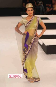 Vikram Phadnis sarees at Blender's Pride Vikram Phadnis, Indian Couture, Indian Sarees, Asian Fashion, Latest Fashion Trends, Pride, Pure Products, Elegant, Womens Fashion