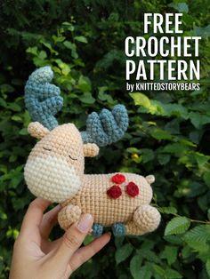 Bears With Bags Crochet Pattern - Crochet Teddy Bear Pattern, Crochet Animal Amigurumi, Crochet Amigurumi Free Patterns, Crochet Bear, Crochet For Kids, Crochet Dolls, Free Crochet, Crochet Animals, Doll Patterns Free