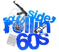 Rollin 60s Gang Signs | Rollin' 60s [Crips]