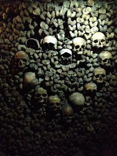 Catacombs in Paris France