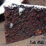 Torta Matta al Cioccolato Senza Uova, Latte e Lievito – Vegan