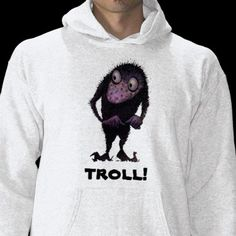 Troll Hoodie from StrangeStore  #fashion... wow i need this.
